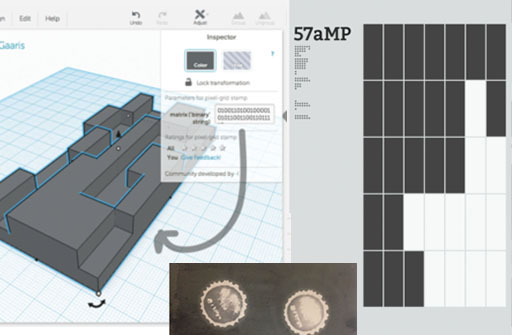 57aMP: Create Physical Stamps With the Thermal Power of Touch Teaser Image.